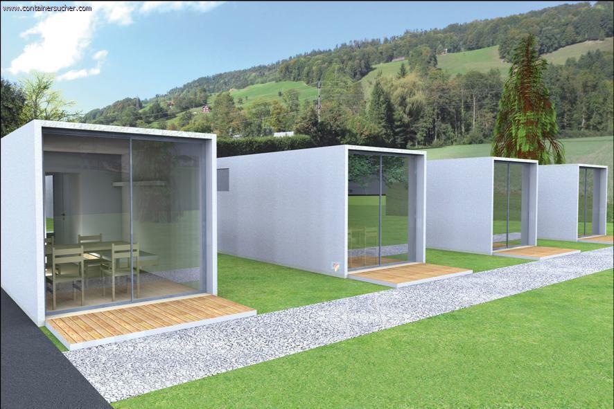 cube wohncontainer f r kommunen. Black Bedroom Furniture Sets. Home Design Ideas